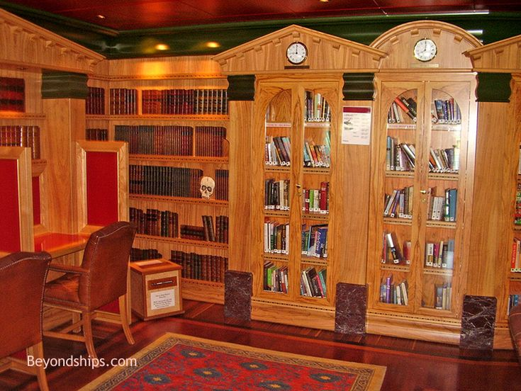 Carnival Legend - Holmes Library