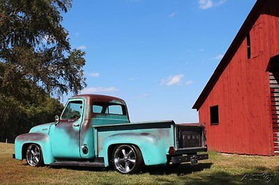 1954 Ford F-100 Rat Rod Pickup,restomod, 406ci,auto,pdb,ps,patina ...