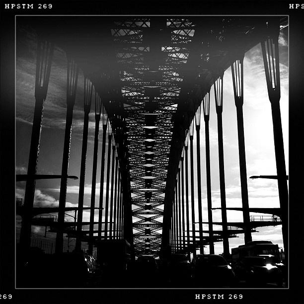 Morning on the bridge #sydney
