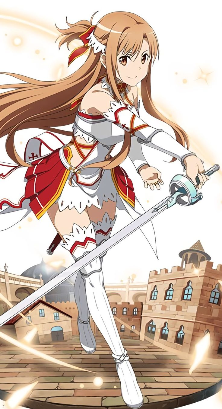 Sword Art Online, Asuna, official art