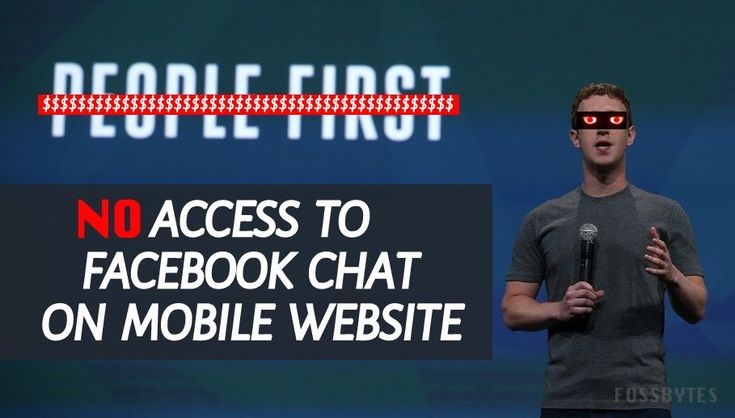 Soon Facebook Wont Let You Use Chat On Its Mobile Website   If you try to access Facebook chat on your Facebook app you are forced to install a separate app for Messenger. A similar message is now being shown to some users who are accessing the social network in their mobile web browsers. Facebook is justifying the move by calling it a move to bring best experience to the users but the overall picture being painted here doesnt look pretty.  Just when you recovered from the shock of not being…