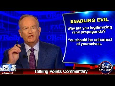 O'Reilly Compares Liberal Blogs To White Supremacy Site