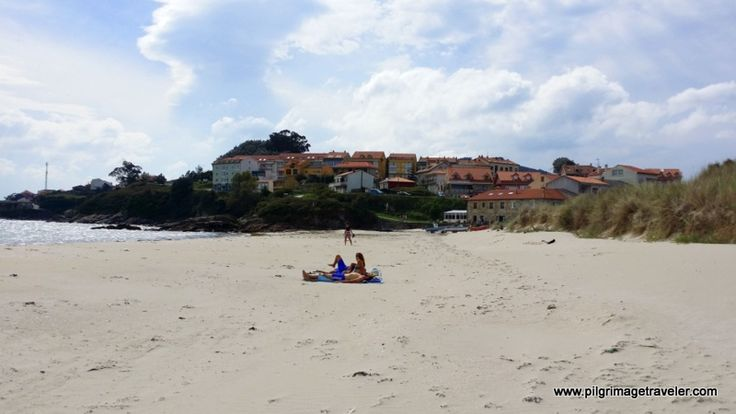 The lengthy and lovely beach of Langosteira in Finisterre, Spain, the end of your Camino de Santiago.