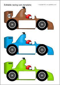 Sparklebox Racing Car