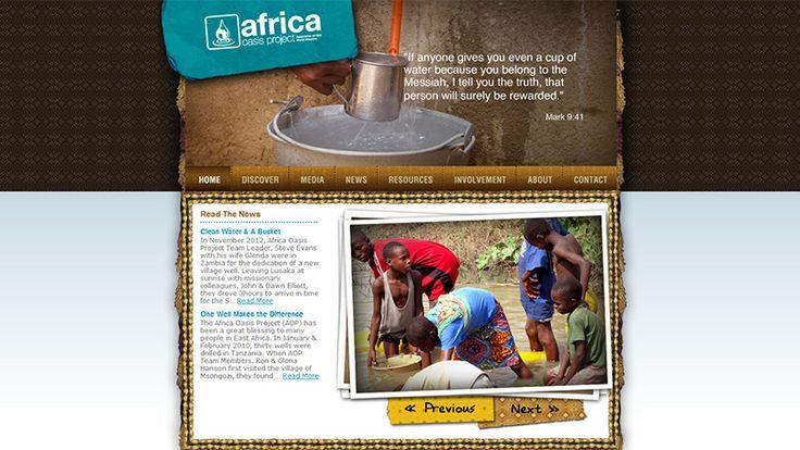 Empathetic Charity and Non-Profit Organizations Website Design