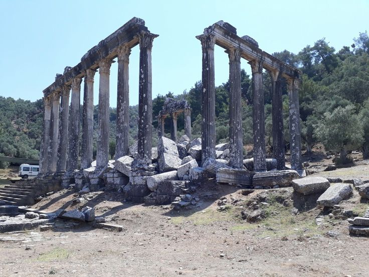 euromos ancient city.muğla turkey