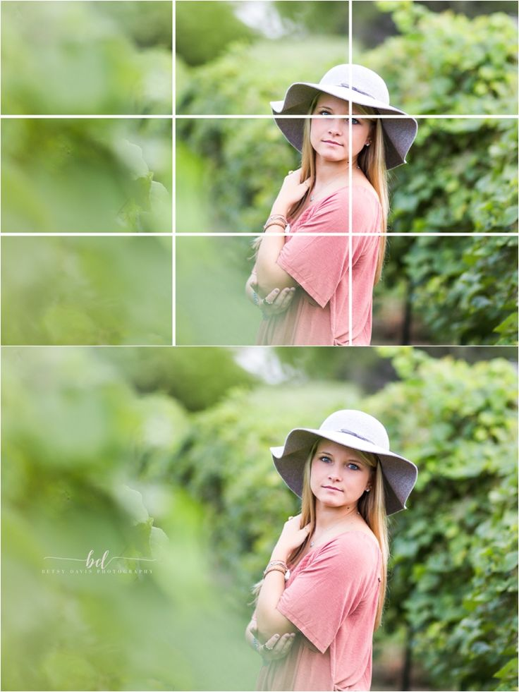 Using the Rule of Thirds in Photography The Rule of Thirds is one of several guidelines for composing visual images. The rule of thirds divides an image into a 3x3 grid, created by two equally spaced horizontal lines and two equally spaced vertical lines. This technique suggests that placing the subject or point of interest in