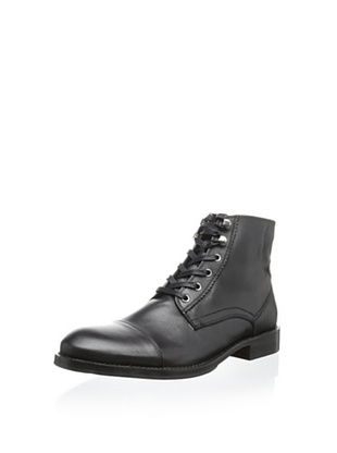 55% OFF JD Fisk Men's Antwerp Lace-Up Boot (Black)