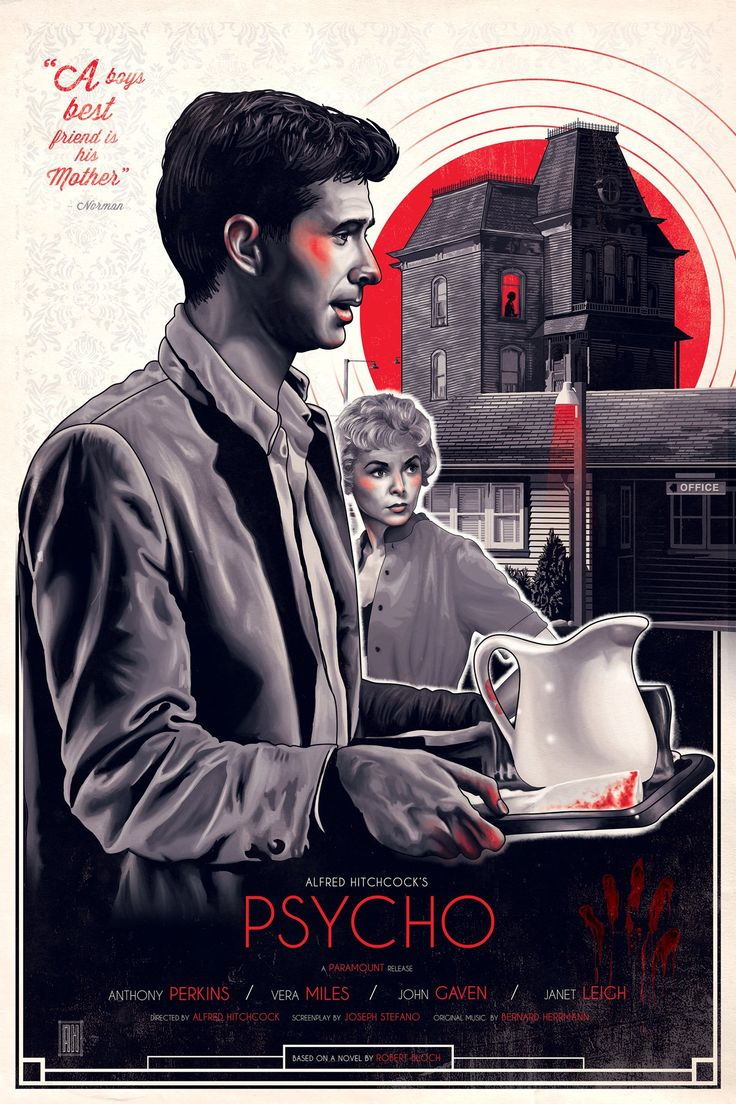 Psycho (1960)  HD Wallpaper From Gallsource.com