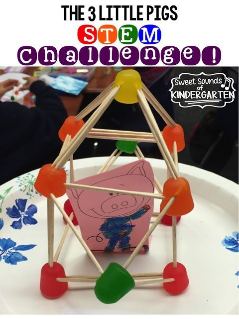 The 3 Little Pigs STEM Challenge! {What a fun idea!!}