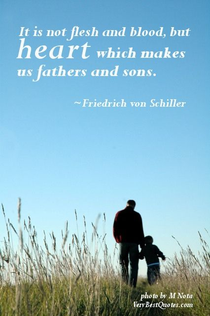 Father and Son Quotes, Sayings - Best Quotes about Father and Son ...