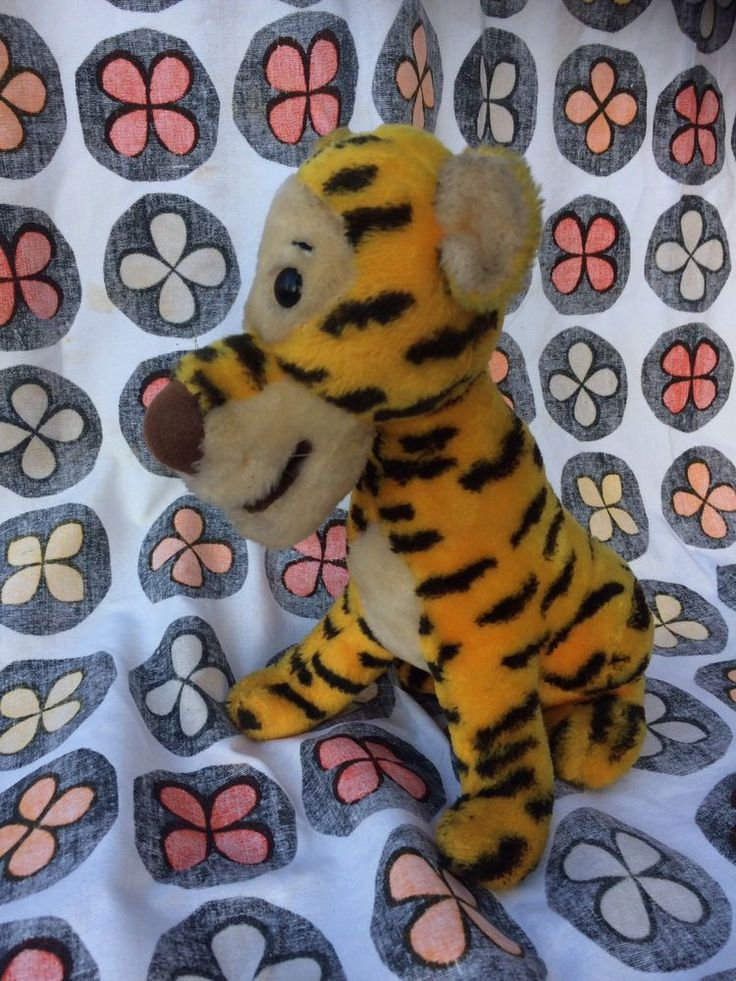 TIGGER WINNIE THE POOH WALT DISNEY VINTAGE STUFFED TOY  | Toys & Games, TV & Film Character Toys, Film & Disney Characters | eBay!