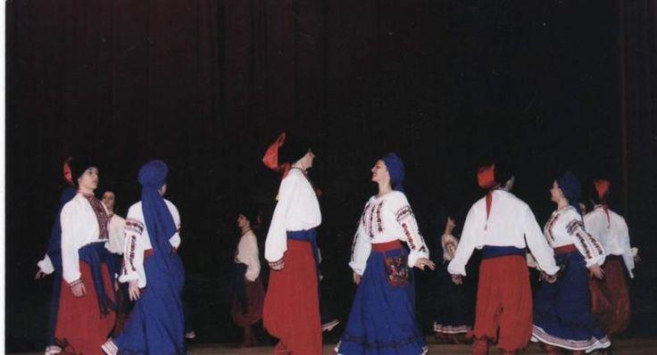 Украинские танцевальные костюмы