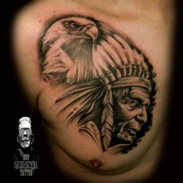 dessin tattoo aigle et indien tatouage animaux tatouage tattoo aigle et tatouages aigle. Black Bedroom Furniture Sets. Home Design Ideas