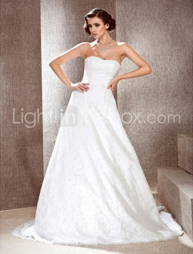: Lace Weddings, Dresses Wedding, Wedding Dressses, Prince Sweetheart, A Line Wedding, Lace Wedding Dresses, Sweetheart Court, Court Training, Training Lace