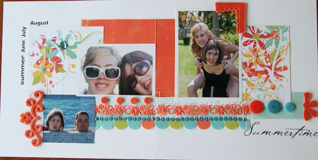 4 Pages TTF- Spring/Summertime, LO #2