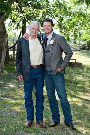 Blake Shelton and his dad