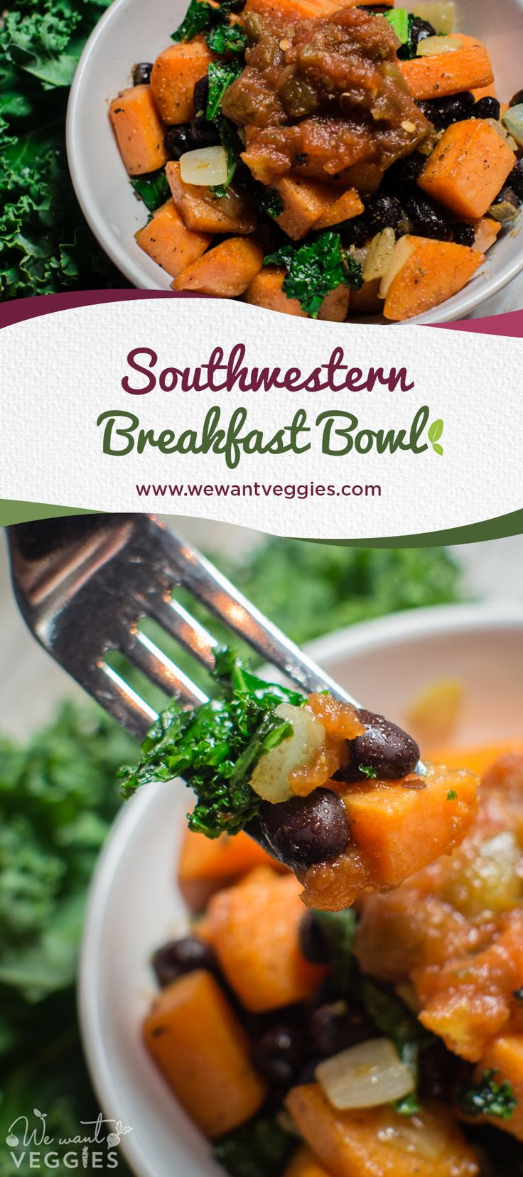 Kickstart your day with this HEALTHY & flavorful Southwestern breakfast bowl!