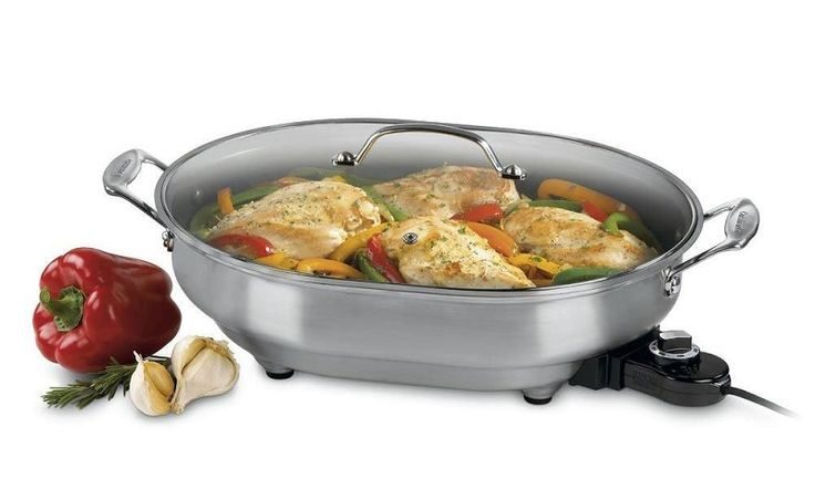 The Cuisinart CSK-150 Electric Skillet is one of the best electric skillets on the market. When dinner time rolls around, and you have to prepare good tast