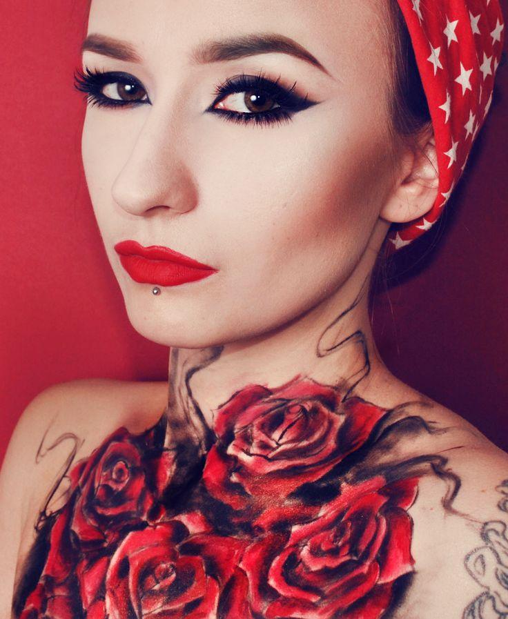 Best 25 Rockabilly Makeup Ideas On Pinterest Red