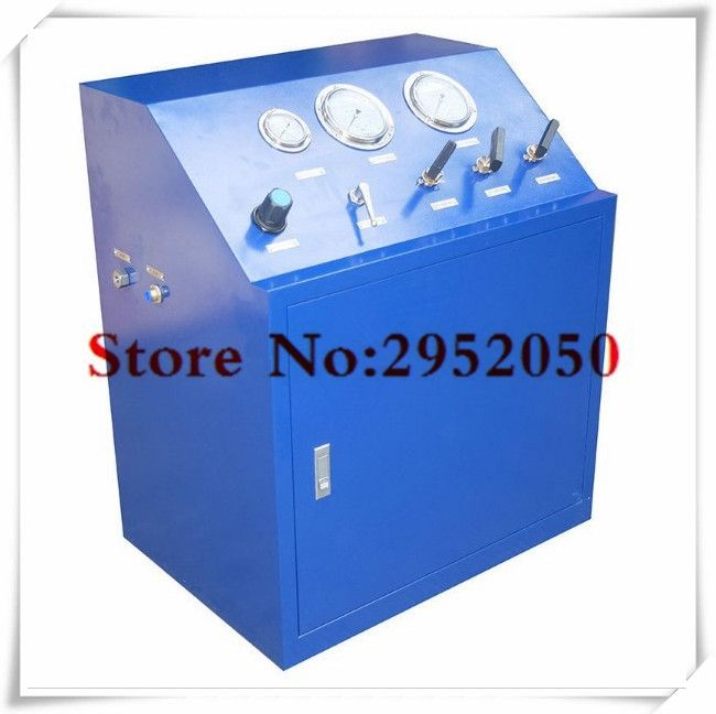 (2448.99$)  Watch more here  - Free shipping by DHL 80 Mpa High pressure hydrogen/argon/helium gas booster system ,gas booster Unit for valve testing
