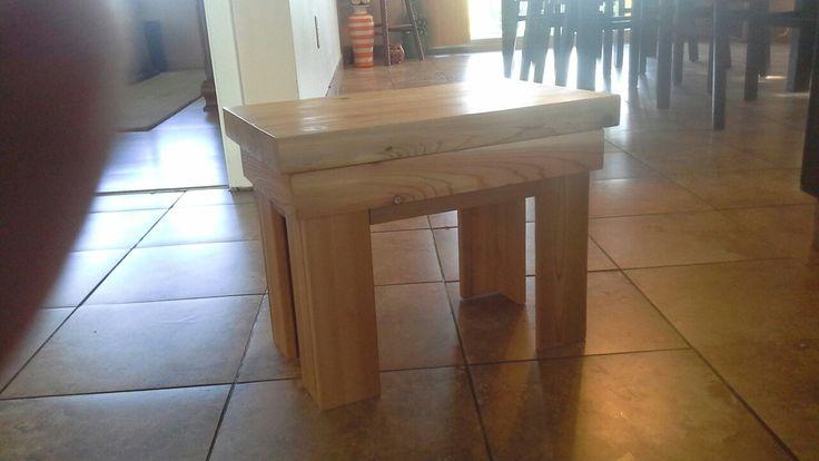 Cedar step stool