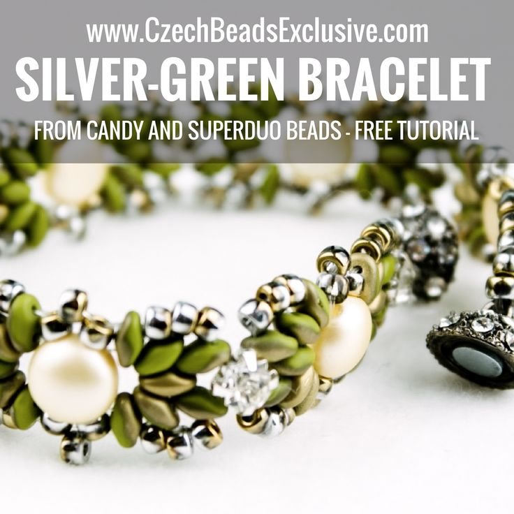 Dear handmakers, Today we prepared for you new free video-tutorial of Silver-Green Bracelet from Czech Glass 2 Hole Candy Beads, that will looks delicate and rich on your arm. Following these beading instructions step-by-step, you will definitely easy bead them. Subscribe to our YouTube Channel to have all the news first and be inspired for [...]