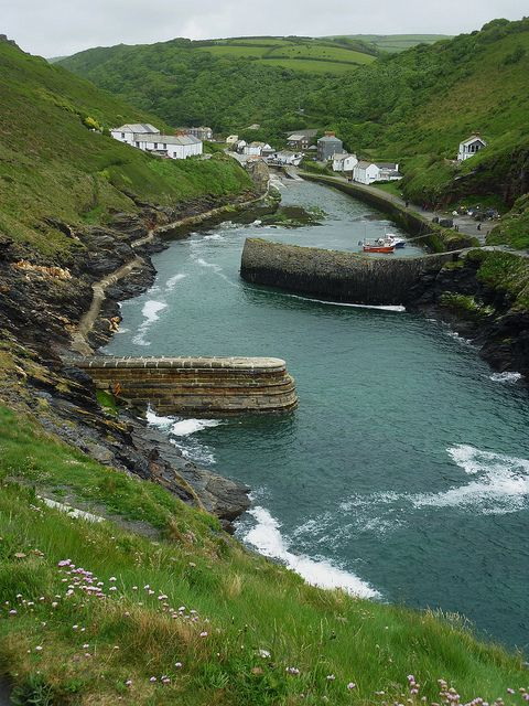 Boscastle, North Cornwall  by jacquemart, via Flickr