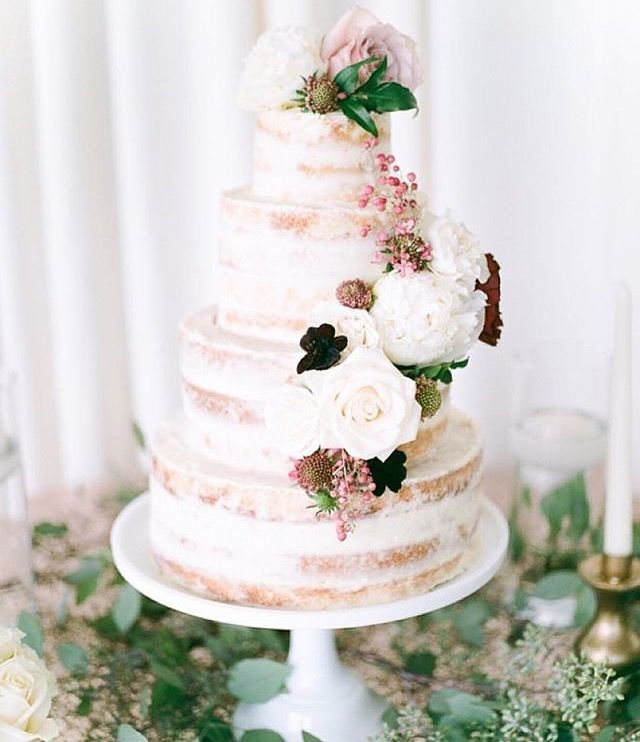 172 Best Images About Naked & Semi-Naked Cakes On