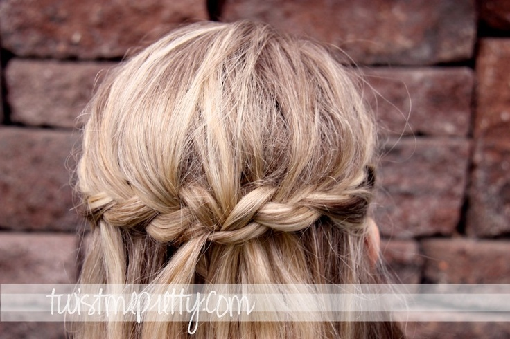 Twist Me Pretty: Day 2- braided crown