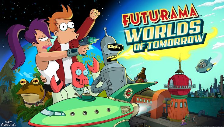 Futurama Brings Us the Worlds of Tomorrow, Launching Today http://www.cgmagonline.com/2017/06/29/futurama-brings-us-worlds-tomorrow/