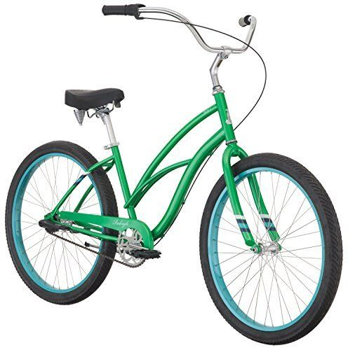"""Product review for Raleigh Bikes Special 3 SPD Bicycle, Green, 26""""/One Size - Like it's fancier cousin, the Retro glide, the Special 3 offers that same sit-back-and-drink-it-in-ride while maintaining it's cruiser manifesto: keep it simple. If your ride is on the hillier side, take the Special 3 to flatten them out.       Famous Words of..."""