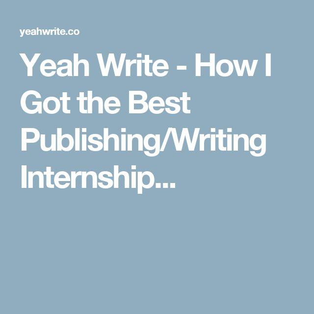 online writing internships
