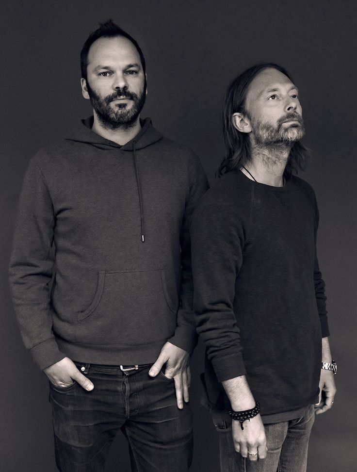 Thom Yorke & Nigel Godrich DJ set on KCRW Morning Becomes Eclectic - LA, 2013-5-16 - By Larry Hirshowitz - #Radiohead #AFP