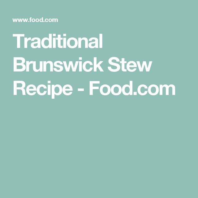 Traditional Brunswick Stew Recipe - Food.com