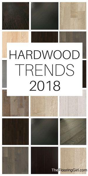 Hardwood flooring trends for 2018.  #hardwood #flooring #trends #2018 #homedecor