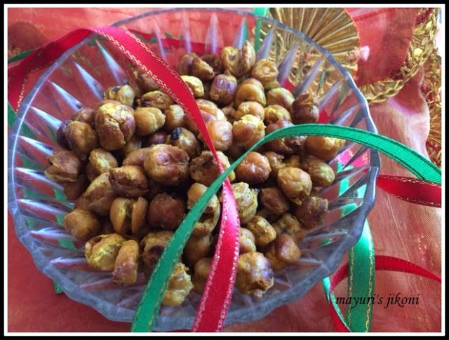 532. Spicy Roasted Chickpeas