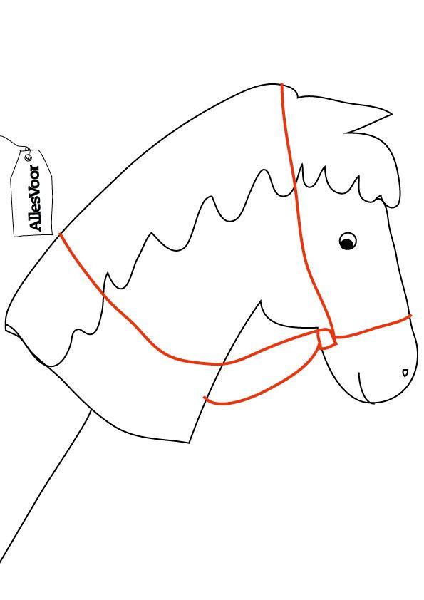 Gebruik dit sjabloon bij je paarden-surprise! #AllesVoor #Surprise #Sinterklaas…