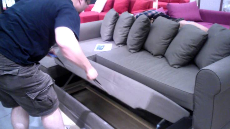 Pull+Out+Sofa+Bed | Cool Pull Out Couch - Ikea - YouTube