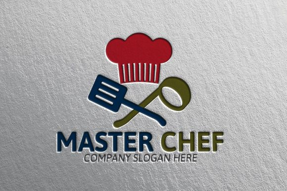 Master Chef Logo by Josuf Media on Creative Market
