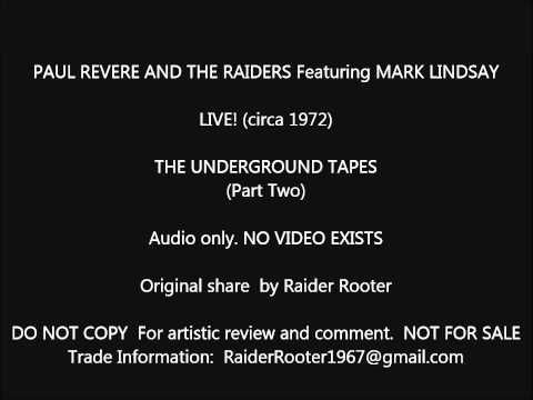 Paul Revere & The Raiders Live Underground  1972 Part 2