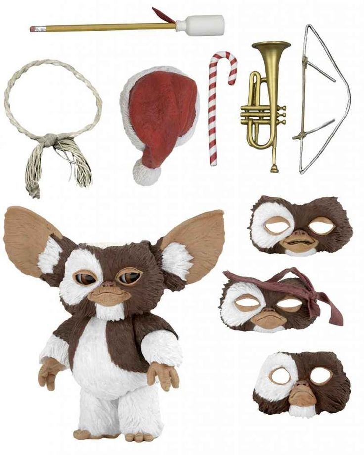 "#NECA #Gremlins 7"" Scale Ultimate #Gizmo #ActionFigure"