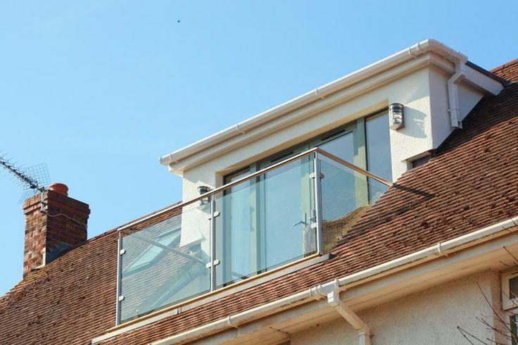 Image result for dormer loft conversion balcony doors