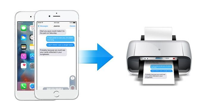 can you print from an iphone you can now print messages imessages from your iphone 2907