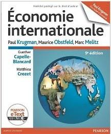 Écrit par les plus grands experts de la discipline, il traite les deux thèmes de l'économie internationale : le commerce international et la finance internationale. Parmi les sujets couverts : les théories liées au commerce : productivité au travail, distribution des revenus, économies d'échelle ; l'application de ces théories à l'analyse des politiques commerciales : instruments de la politique commerciale, politique commerciale dans les pays émergents, etc. (...)  Cote: 2-106 KRU