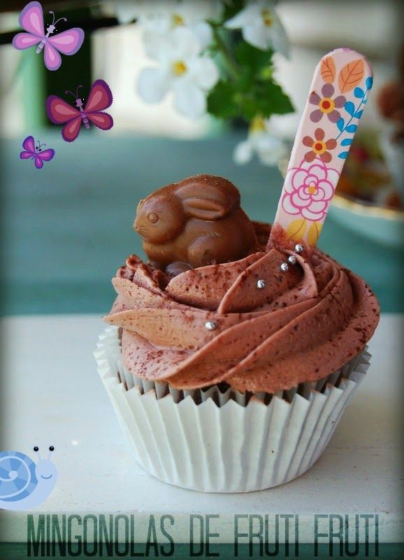 *** mingonolas de fruti fruti...: Cupcake de remolacha roja y chocolate