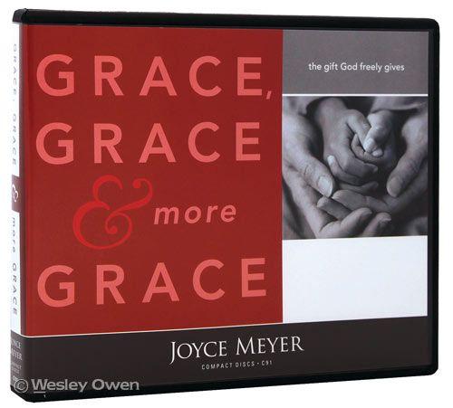 Grace, grace & more grace by Joyce Meyer