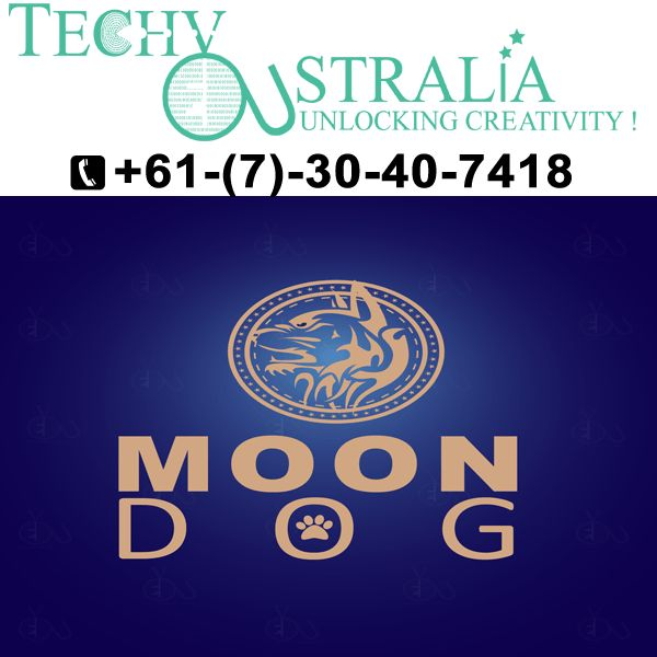 +61-(7)-30-40-7418 Techy Australia  Creating best logo design