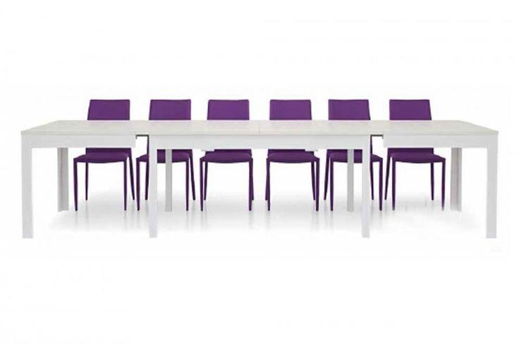 Nuovarredo - Scheda prodotto: 770127-Tavolo Lipsia all. bianco frassinato - Tavoli in stile Moderno