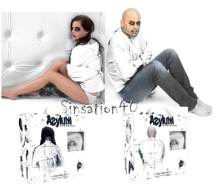 Straight jacket costume for women